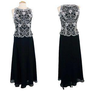 J KARA Elegant Formal Fit Flare Dress Size 8